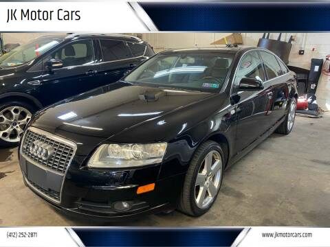 2008 Audi A6 for sale at JK Motor Cars in Pittsburgh PA