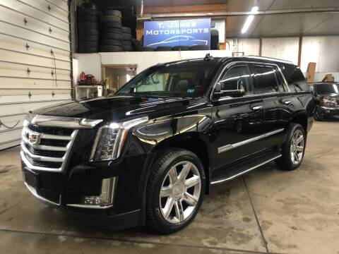 2015 Cadillac Escalade for sale at T James Motorsports in Gibsonia PA