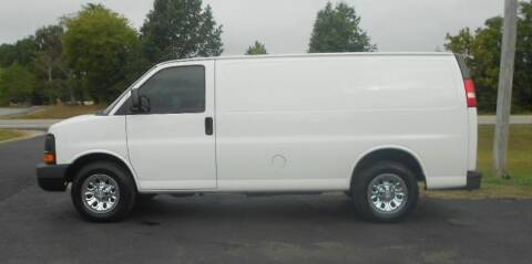 2010 Chevrolet Express Cargo for sale at KNOBEL AUTO SALES, LLC in Brookland AR