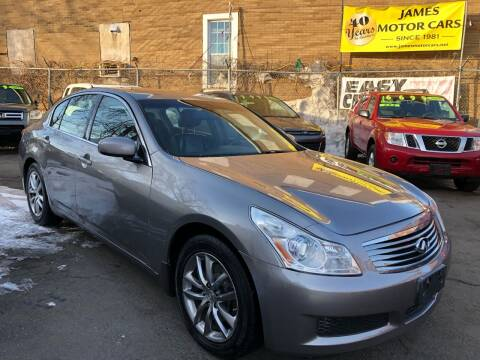 2007 Infiniti G35 for sale at James Motor Cars in Hartford CT