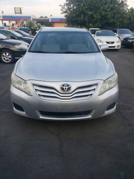 2011 Toyota Camry for sale at Thomas Auto Sales in Manteca CA