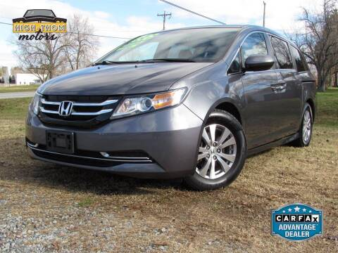 2016 Honda Odyssey for sale at High-Thom Motors in Thomasville NC