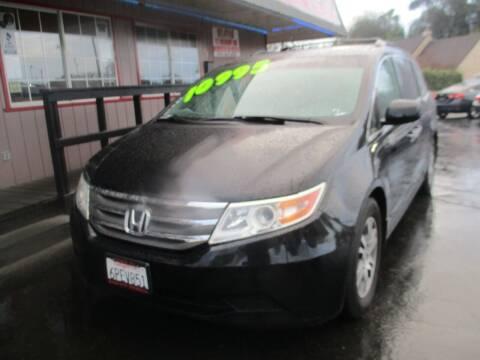 2011 Honda Odyssey for sale at Quick Auto Sales in Modesto CA