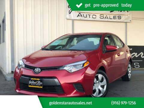2015 Toyota Corolla for sale at Golden Star Auto Sales in Sacramento CA