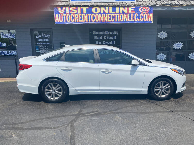 2017 Hyundai Sonata for sale at Auto Credit Connection LLC in Uniontown PA