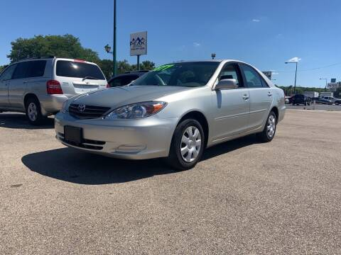 2003 Toyota Camry for sale at Peak Motors in Loves Park IL