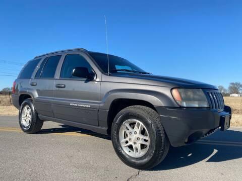 2004 Jeep Grand Cherokee for sale at ILUVCHEAPCARS.COM in Tulsa OK