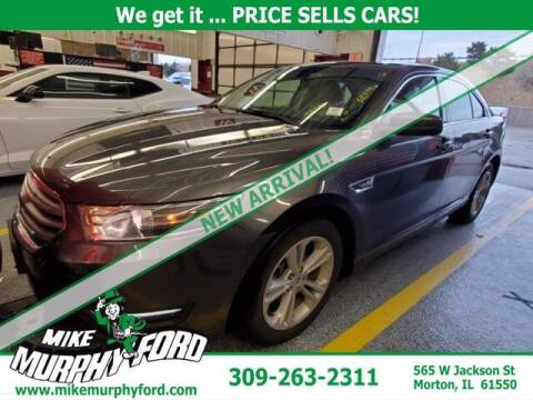 2018 Ford Taurus for sale at Mike Murphy Ford in Morton IL