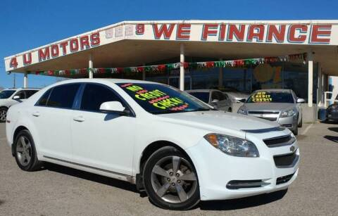 2011 Chevrolet Malibu for sale at 4 U MOTORS in El Paso TX