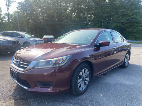 2014 Honda Accord for sale at Royal Crest Motors in Haverhill MA