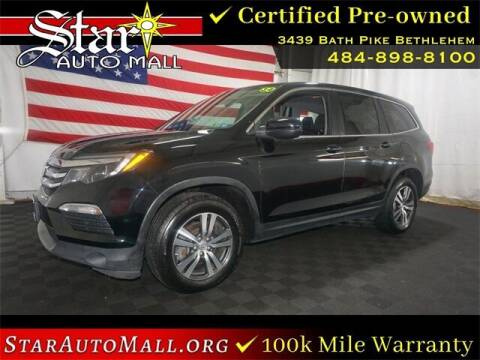 2018 Honda Pilot for sale at STAR AUTO MALL 512 in Bethlehem PA