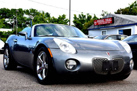 2006 Pontiac Solstice for sale at Wheel Deal Auto Sales LLC in Norfolk VA