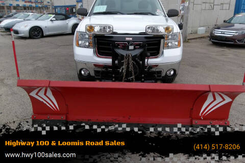 2007 GMC Sierra 2500HD for sale at Highway 100 & Loomis Road Sales in Franklin WI