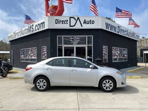 2017 Toyota Corolla for sale at Direct Auto in D'Iberville MS