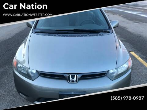 2007 Honda Civic for sale at Car Nation in Webster NY