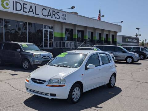 2004 Chevrolet Aveo for sale at Ideal Cars in Mesa AZ
