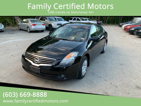 2009 Nissan Altima for sale at Family Certified Motors in Manchester NH