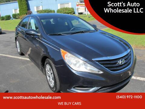 2011 Hyundai Sonata for sale at Scott's Auto Wholesale LLC in Locust Grove VA