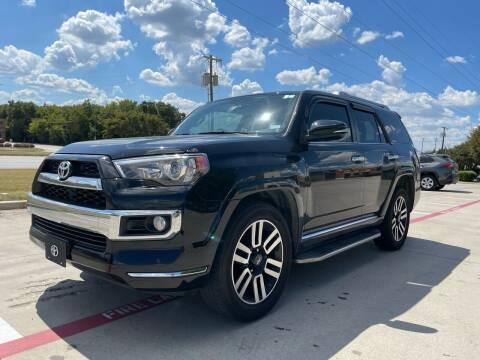 2018 Toyota 4Runner for sale at Dream Lane Motors in Euless TX