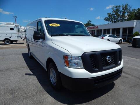 2015 Nissan NV Cargo for sale at Vail Automotive in Norfolk VA