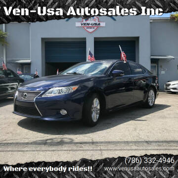 2013 Lexus ES 350 for sale at Ven-Usa Autosales Inc in Miami FL