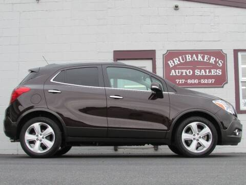 2015 Buick Encore for sale at Brubakers Auto Sales in Myerstown PA