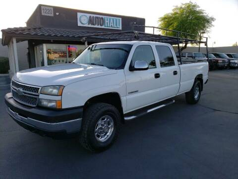 2005 Chevrolet Silverado 2500HD for sale at Auto Hall in Chandler AZ