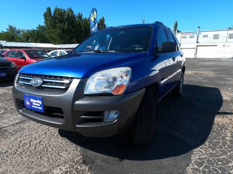 2008 Kia Sportage for sale at StarCity Motors LLC in Garden City ID