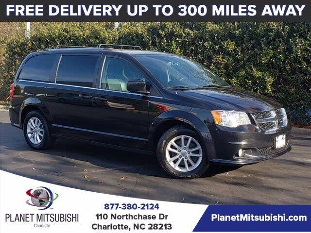 2018 Dodge Grand Caravan for sale at Planet Automotive Group in Charlotte NC