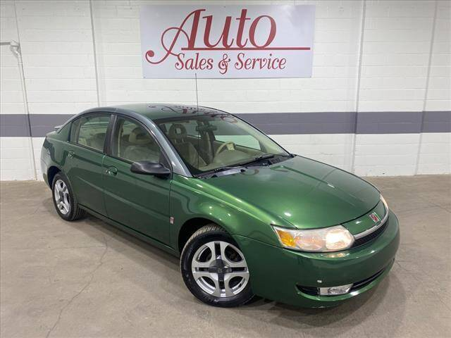 2003 Saturn Ion for sale at Auto Sales & Service Wholesale in Indianapolis IN
