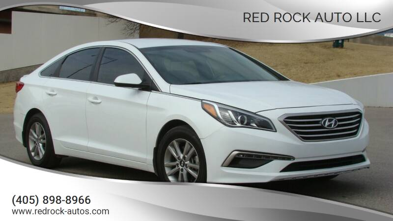 2015 Hyundai Sonata for sale at Red Rock Auto LLC in Oklahoma City OK