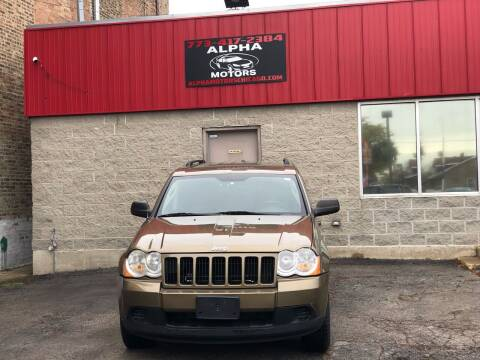 2009 Jeep Grand Cherokee for sale at Alpha Motors in Chicago IL