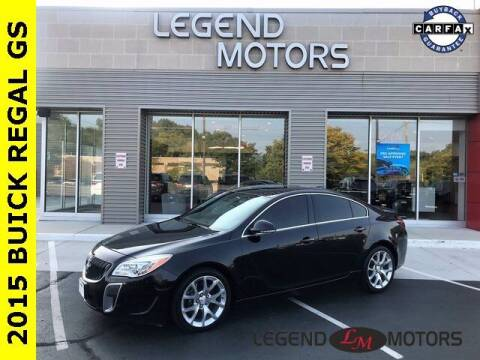 2015 Buick Regal for sale at Legend Motors of Waterford in Waterford MI