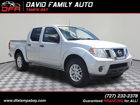 2014 Nissan Frontier for sale at David Family Auto in New Port Richey FL