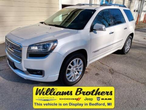 2016 GMC Acadia for sale at Williams Brothers - Pre-Owned Monroe in Monroe MI