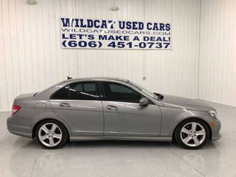2011 Mercedes-Benz C-Class for sale at Wildcat Used Cars in Somerset KY