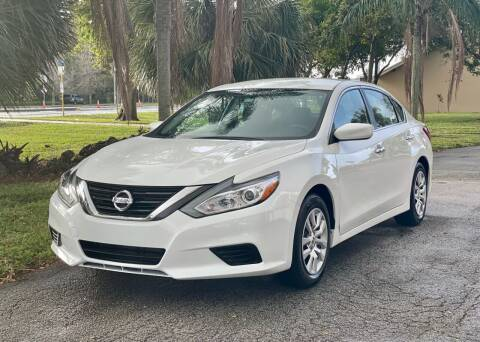 2017 Nissan Altima for sale at Sunshine Auto Sales in Oakland Park FL