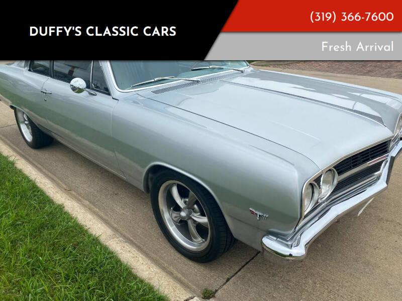 1965 Chevrolet Malibu for sale at Duffy's Classic Cars in Cedar Rapids IA