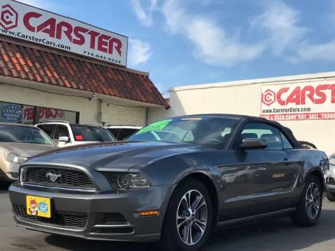 2014 Ford Mustang for sale at CARSTER in Huntington Beach CA