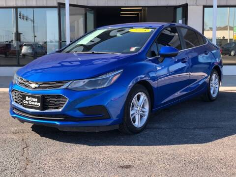 2018 Chevrolet Cruze for sale at Nelson Car Country in Bixby OK