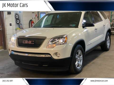 2007 GMC Acadia for sale at JK Motor Cars in Pittsburgh PA