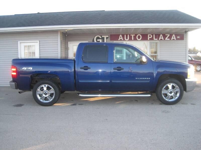 2013 Chevrolet Silverado 1500 for sale at G T AUTO PLAZA Inc in Pearl City IL