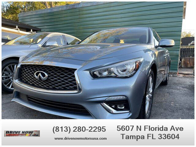 2020 Infiniti Q50 for sale at Drive Now Motors USA in Tampa FL