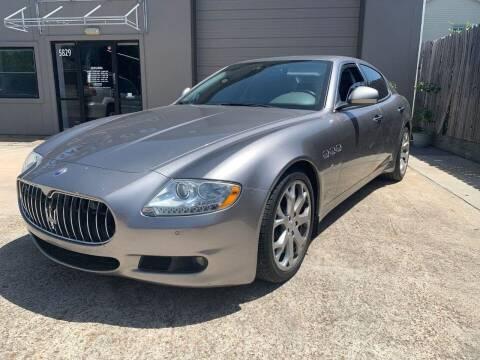 2009 Maserati Quattroporte for sale at PARK PLACE AUTO SALES in Houston TX