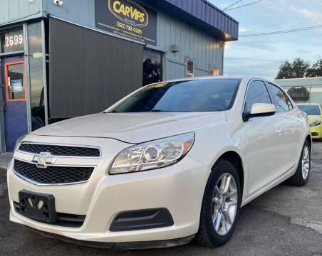 2013 Chevrolet Malibu for sale at CAR VIPS ORLANDO LLC in Orlando FL