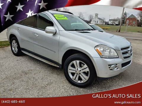 2009 Mercedes-Benz GL-Class for sale at Gallo's Auto Sales in North Bloomfield OH
