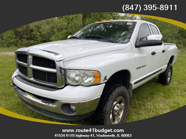 2005 Dodge Ram Pickup 2500 for sale at Route 41 Budget Auto in Wadsworth IL