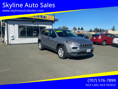 2014 Jeep Cherokee for sale at Skyline Auto Sales in Santa Rosa CA