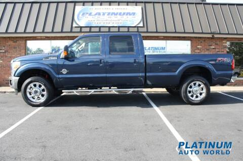 2016 Ford F-350 Super Duty for sale at Platinum Auto World in Fredericksburg VA