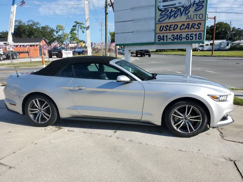 2016 Ford Mustang for sale at Steve's Auto Sales in Sarasota FL